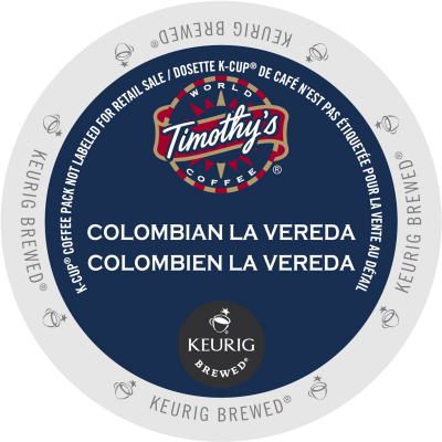 Timothy's Colombian La Vereda Coffee