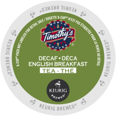 Timothy's Decaffeinated English Breakfast Tea