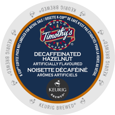 Timothy's Decaffeinated Hazelnut