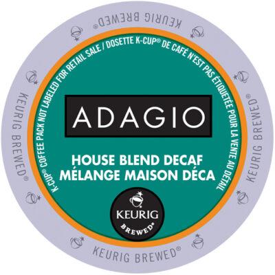 Adagio House Blend Decaf