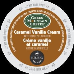 GREEN MOUNTAIN – Caramel Vanilla Cream Coffee