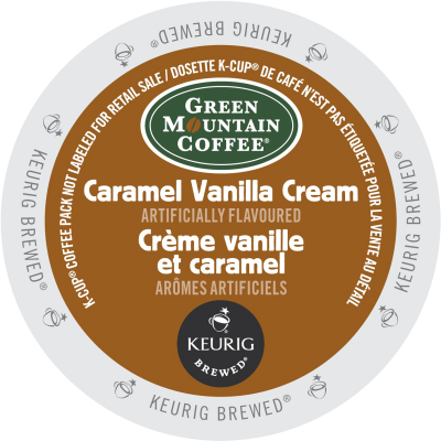 GREEN MOUNTAIN – Caramel Vanilla Cream Coffee