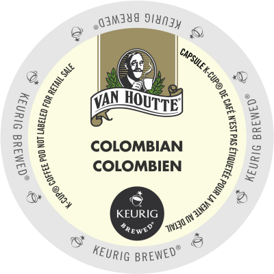 Van Houtte Colombian Dark Coffee