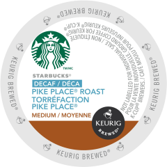 STARBUCKS® – Decaf Pike Place® Roast Coffee