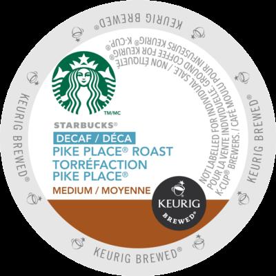 STARBUCKS® – Decaf Pike Place® Roast Coffee
