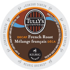 TULLY'S – French Roast Decaf Coffee