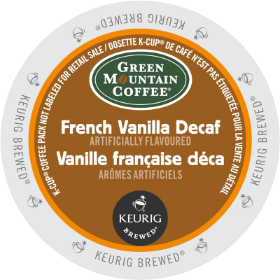 GREEN MOUNTAIN – French Vanilla Decaf Coffee