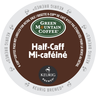 GREEN MOUNTAIN – Half-Caff Coffee