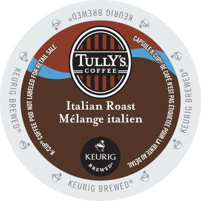 TULLY'S – Italian Roast Coffee