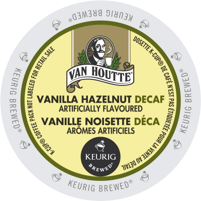 Van Houtte-Vanilla Hazelnut Decaf Coffee