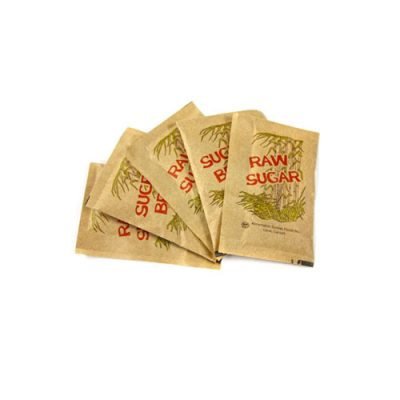 Raw Individual Sugar  Packets