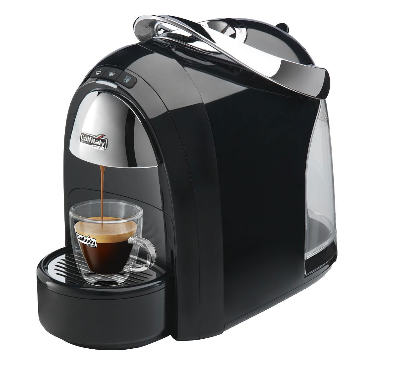 Caffitaly S18 Ambra Black Java Kap