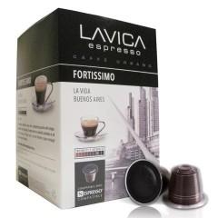 LAVICA FORTISSIMO: La vida Buenos Aires Nespresso Compatible