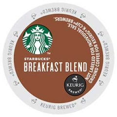 STARBUCKS® Breakfast Blend™ K-Cup®