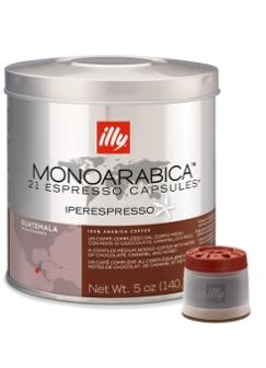Illy Iperespresso Monoarabica Guatemala Espresso