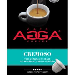 Café AGGA ESPRESSO CREMOSO 1 X 10 Capsules
