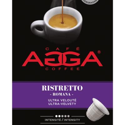 Café AGGA ESPRESSO RISTRETTO 1 X 10 Capsules