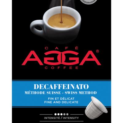 Café AGGA ESPRESSO DECAFFEINATO 1 X 10 Capsules