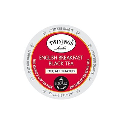Twinings® Decaffeinated English Breakfast K-Cup®