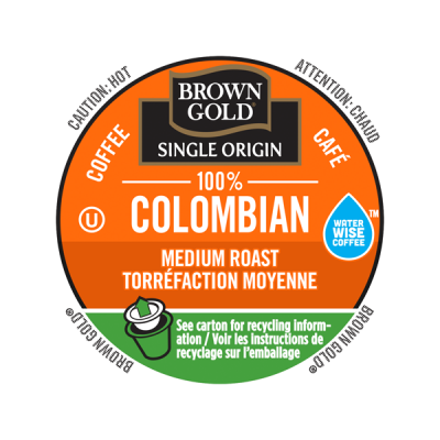 Brown Gold® 100% Colombian