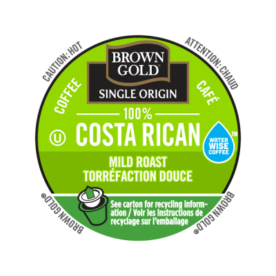 Brown Gold® 100% Costa Rican