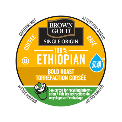 Brown Gold® 100% Ethiopian