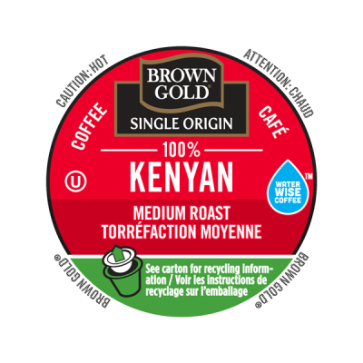 Brown Gold® 100% Kenyan