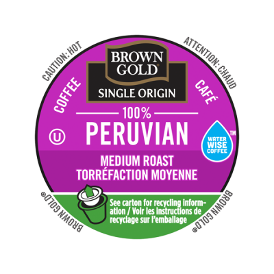 Brown Gold® 100% Peruvian