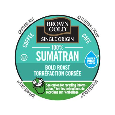 Brown Gold 100% Sumatran