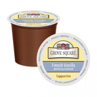 Grove Square French Vanilla Single Serve Cappuccino