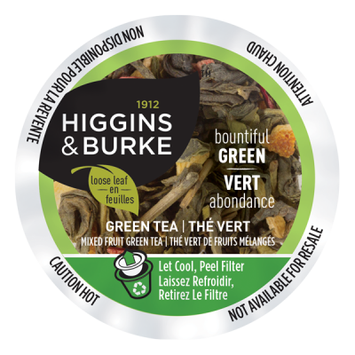 Higgins & Burke™ Loose Leaf Tea Bountiful Green