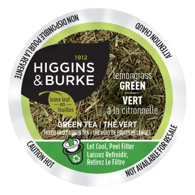 Higgins & Burke™ Loose Leaf Tea Lemongrass Green