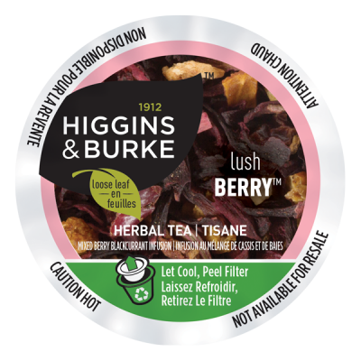 Higgins & Burke™ Loose Leaf Tea Lush Berry™