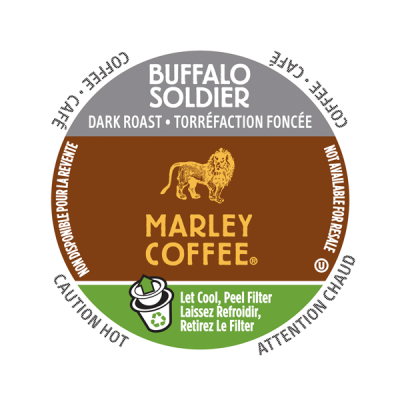 Marley Coffee® Buffalo Soldier