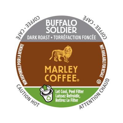 Marley Coffee® Buffalo Soldier