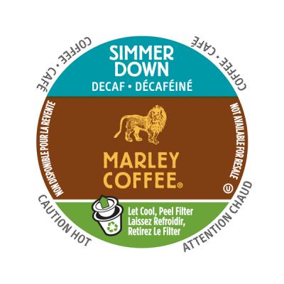 Marley Coffee® Simmer Down Decaf