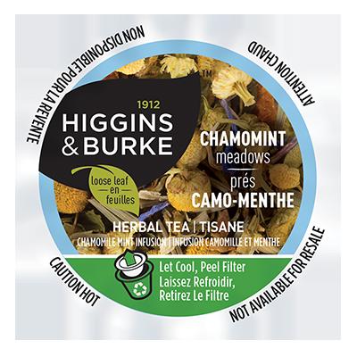 Higgins & Burke™ Thé en feuilles Prés Camo-Menthe