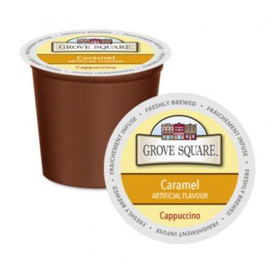Grove Square Caramel Single Serve Cappuccino