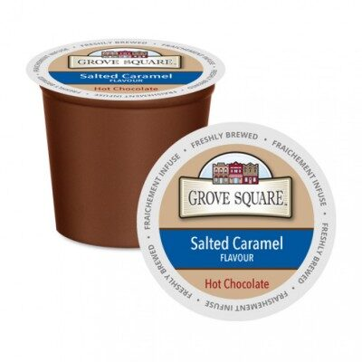 Grove Square Salted Caramel Single Serve Hot Chocolate