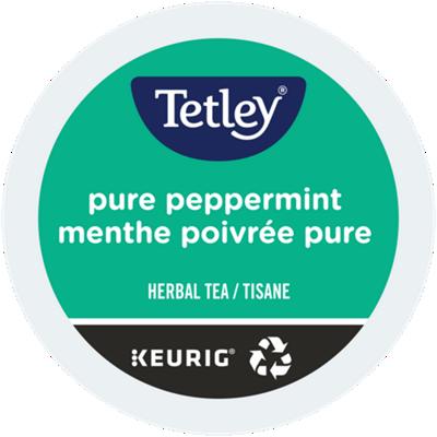 Tetley Tea – Thé menthe poivrée pure